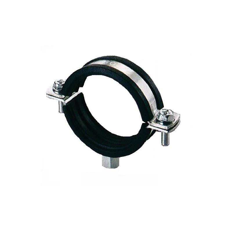 Collier series lourdes isophonique EPDM à 2 vis imperdables