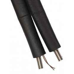 Flexible bi-tubes solaire